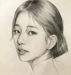 ภาพนิ่งวาดด้วยดินสอ Piercing a piercing place Kpop Drawings, Pencil Art Drawings, Realistic Drawings, Drawing Sketches, Drawing Ideas, Portrait Sketches, Pencil Portrait, Portrait Art, Face Sketch