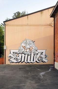 Luca Zamoc Street Art Graffiti, Urban Art, Basement, World, Illustration, Artist, The World, Street Art, Illustrations