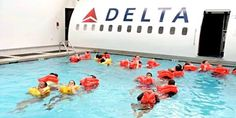 Inside the intensive, two-month training all Delta flight attendants must attend that's harder to get into than Harvard delta flight attendant training Delta Flight Attendant, Become A Flight Attendant, Airline Attendant, Airline Jobs, Airline Booking, Airline Flights, Europe Travel Tips, Packing Tips For Travel, Europe Packing