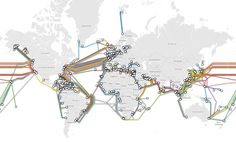 interactive Submarine Cable map done in Google Maps