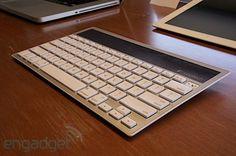 Wireless Solar Keyboard