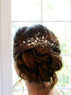 #wedding #hairstyles #jewelry