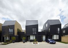 Alison Brooks Architects _ Newhall Be _ Courtyard  Frontal