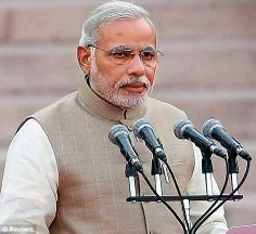 Narendra Modi takes his oath as the 15th Prime Minister of India...