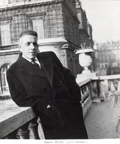 """French composer Francis Poulenc is known for his operas """"Les mamelles de Tiresias,"""" """"Dialogues des Carmelites"""" and """"La Voix humaine"""" and the for choir and orchestra. Music Like, My Music, Music Stuff, Fun Stuff, Francis Poulenc, Thelonious Monk, D Minor, Great Thinkers, People Of Interest"""