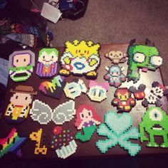 Crafts perler beads by his_juggalette