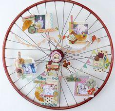 Project - Scrapbook wheel