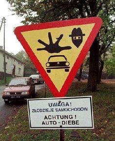 funny road signs   Blog FUAD - Informasi Dikongsi Bersama: Funny Road Signs