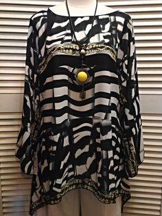 Lior  - Chiffon tunic  - $119