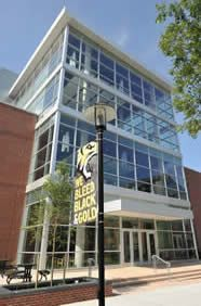 West Village Commons is LEED-gold certified for sustainability Towson University, Construction Group, Green School, West Village, Master Plan, Colleges, Baltimore, Schools, Sustainability