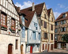 Maisons à colombages - Haute Normandie Lyons la Forêt - Manche