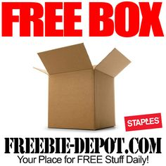 FREE Shipping Box at Staples with Coupon – FREE Cardboard Mailing Box - Exp 11/15/14