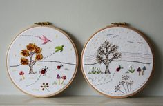 Tales from a happy house.: Winter Stitches