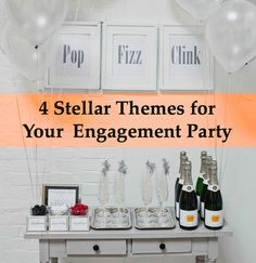 Give your friends a sneak peek of just how amazing your wedding will be with an awesome engagement party!