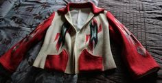 RESERVED Beautiful Vintage 1940's Hand Woven Chimayo All