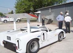Chaparral Cars was a United States automobile racing team which built race cars from 1963 through 1970. Chaparral cars was founded in 1962 by Hap Sharp and Jim Hall, a Texas oil magnate with an impressive combination of skills in engineering and race car driving. (Resouce: Wikipedia - Chaparral Cars)
