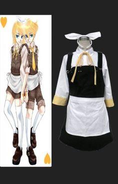 VOCALOID-- VOCALOID-Alice Human Sacrifice RIN Cosplay Costume  ITEM: #ZZ513608   Poids: 900g   Price:$65.00