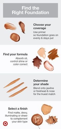 Learn how to find the best foundation color to match your skin tone & perfect your natural makeup looks. Makeup 101, Beauty Makeup Tips, Makeup Inspo, Makeup Inspiration, Makeup Ideas, Makeup Basics, Drugstore Makeup, Contour Makeup, Skin Makeup