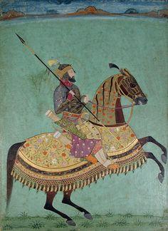 Equestrian Aurangzeb