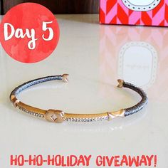 Enter to win this gorgeous bracelet from Stella and Dot from the Ho-Ho-Holiday Giveaway!   Hosted by Style and Spice