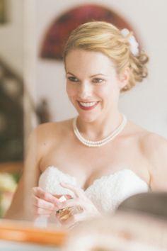 Maquillaje de otoño para novias {Foto, En Route Photography} #maquillajenovia #bridemakeup #tendenciasdebodas