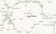 La Clusaz Ski Resort Guide, Location Map & La Clusaz ski holiday accommodation