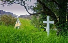 The Last Turf Church in Iceland