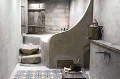 27 banheiros com cimento queimado | CASA.COM.BR