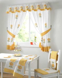 kitchen window curtains 7