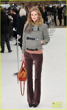 at the Burberry Fall/Winter 2012 Womenswear show