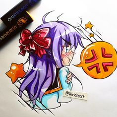 @kiricheart Thank you guys for the love and support you guys have been giving! I'm about to open up commissions again so be sure to look out for that! :) - - - #art #anime #animeart #animedrawing #animegirl #chibi #manga #mangadrawing #mangaart #chameleonpens #markers #pens #micron #ink #multiliner #canson #traditional #illustration #instaart #instalike #instalove #instacute #instafollow #instadaily #moe #kawaii #instacool