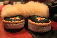 Handmade Leather  Ethnic Folk Brown Embroidery Shoes by KultomaniA, $25.00