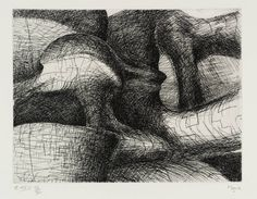 Henry Moore OM, CH 'Elephant Skull Plate XXVI', 1969 © The Henry Moore Foundation, All Rights Reserved, DACS 2014