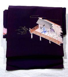 Obi #241385 Kimono Flea Market Ichiroya