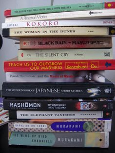 Japanese Literature, Japanese Books, I Love Books, Books To Read, Oxford Books, Literature Books, Book Study, Coffee And Books, Book Aesthetic