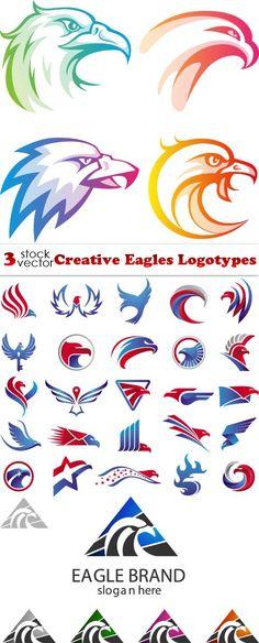 Vectors - Creative Eagles Logotypes