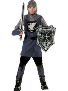 Valiant Knight Costume for Boys - Party City