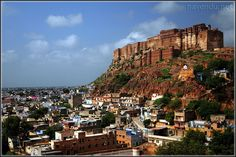 Mehrangarh Fort, Rajasthan, India