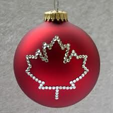 Canadian Christmas ball