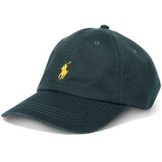 0180f2f6079 Polo Ralph Lauren Men s Classic Chino Sports Cap ( 40) ❤ liked on Polyvore  featuring men s fashion