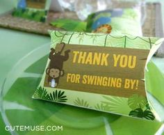 Jungle Baby Shower Party Ideas | Photo 4 of 11