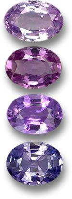 Purple & Violet Sapphire Gems
