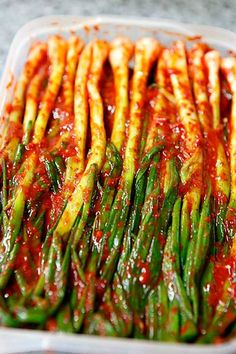 The traditional Korean dish Kimchi is not only delicious but healthy to boot – as a fermented food, it's bursting with gut-friendly probiotics – so it's well worth adding to your culinary repertoire.