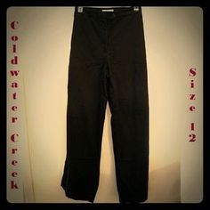 Coldwater Creek Pants - Very nice black slax by ColdH2O Ck