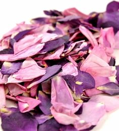 7.50 SALE PRICE! Create sweet, soft displays with these perfect petals. The Pink and Lavender Preserved Rose Petals can be used to trim your wedding aisle in...