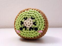 "Häkelanleitung – Kiwi ""Freches Früchtchen"" // #amigurumi #amigurumis #häkeln #crochet #gehäkelt #gehäkeltes #häkelanleitung #häkelanleitungen #anleitung #anleitungen #häkelspielzeug #häkelspielzeuge #spielzeug #spielzeuge #toy #toys #häkeltier #häkeltiere #handarbeit #handarbeiten #handgemacht #handmade #kawaii #niedlich #cute #süß #häkelmuster #muster #pattern #patterns #kiwi #obst #fruit"