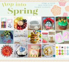 hop into spring: A Spring and Easter Roundup of Fab Ideas #Easter #spring http://www.mamamiss.com ©2013