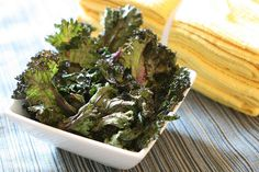 Kale Chips...even if you don't like Kale...these are YUMMUY