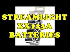 STREAMLIGHT CR123A BATTERIES CHEAP!