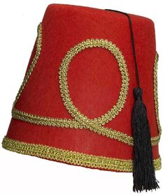 Adult Red Fez Tarboosh Hat Moroccan Turkish Aladdin Dress Up Costume Accessories Aladdin Play, Genie Aladdin, Aladdin And Jasmine, Princess Jasmine, Disney Halloween, Halloween Make Up, Halloween Themes, Halloween Costumes, Aladdin Costume